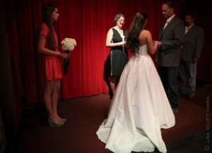 Red Room - The Mark - Event Planning - red room wedding on stage