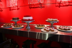 Red Room - The Mark - Event Planning - red room wedding cakes